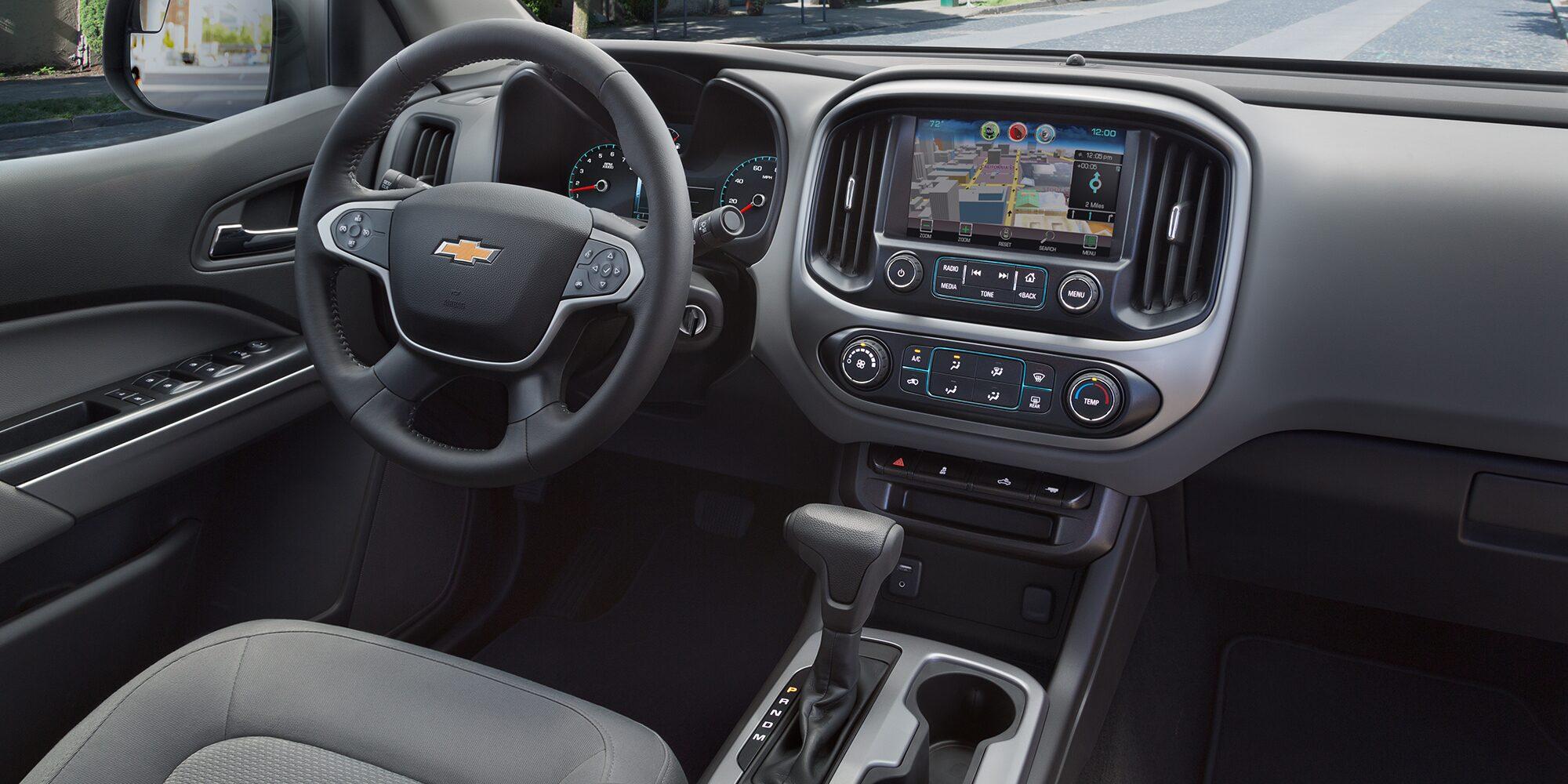 2018 Colorado Midsize Truck Interior Photo: Driver Seat