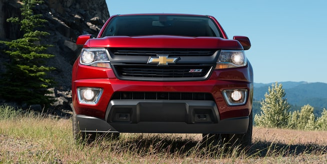 2018 Chevrolet Colorado vs. Competitors