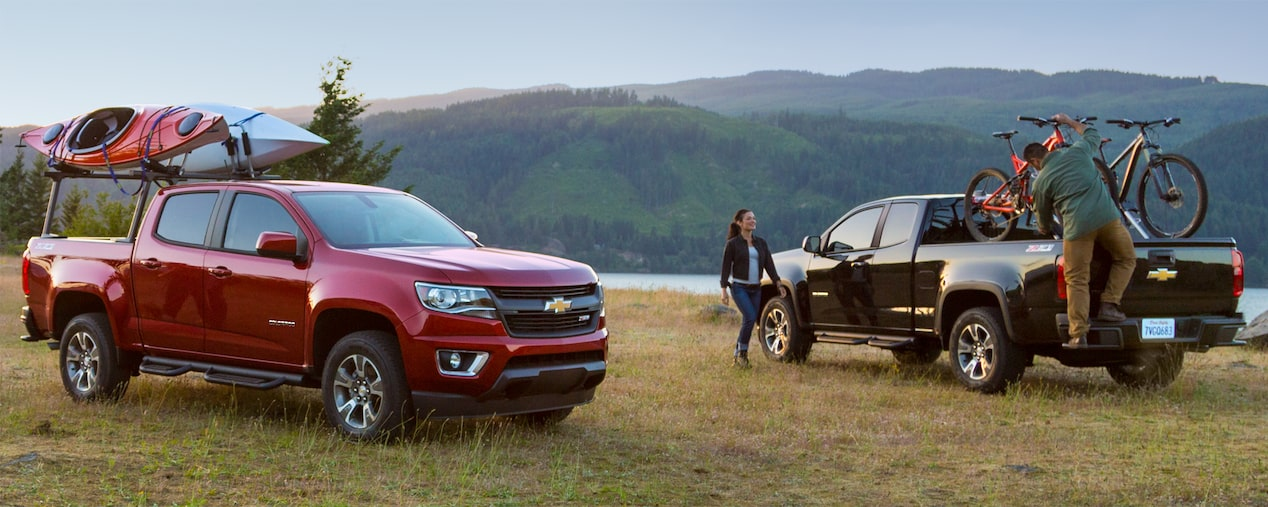 2018 Colorado Midsize Truck Design