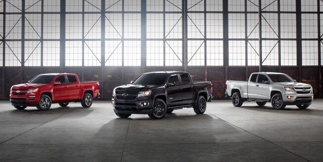 2018 Colorado Midsize Truck Design: Special Editions Lineup