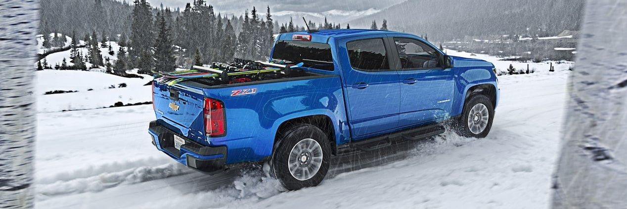 2018 Colorado Midsize Truck Performance