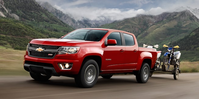2018 Colorado Midsize Truck Performance: Towing/Trailering 2