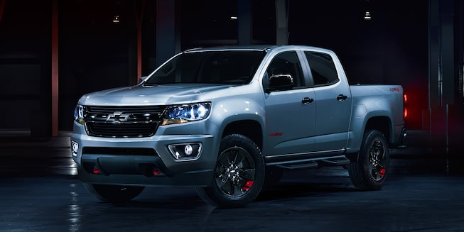 2018 Colorado Midsize Truck Design Redline Edition