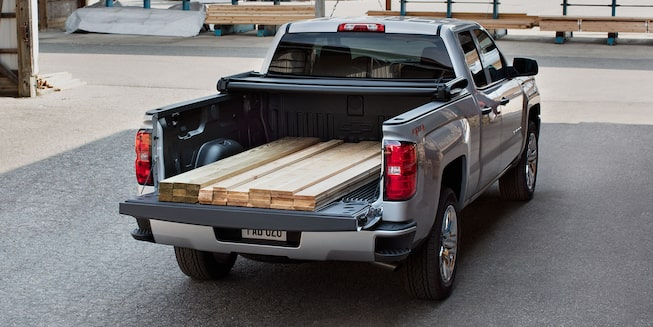 2018 Silverado 1500 Pickup Truck Exterior Photo: truck bed