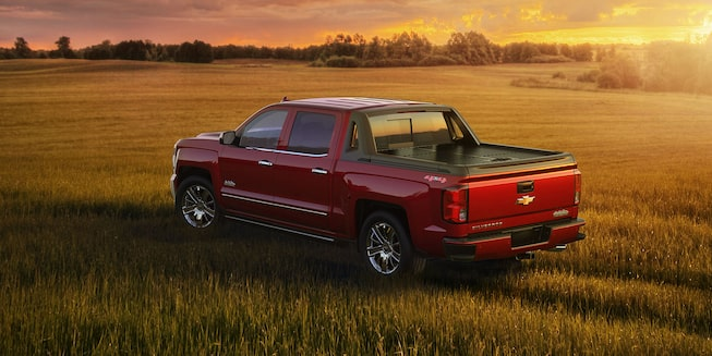 2018 Silverado 1500 Pickup Truck Exterior Photo:rear