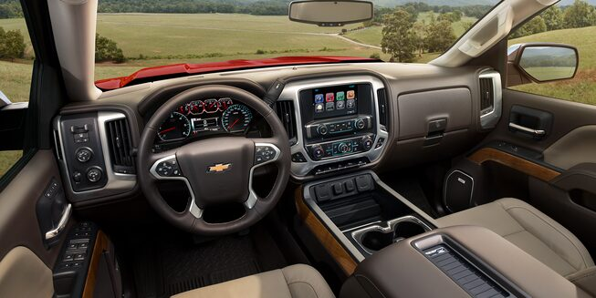 2018 Silverado 1500 Pickup Truck Interior Photo: dashboard