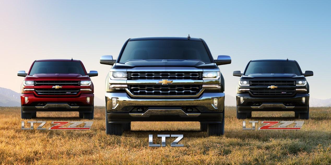 2018 Silverado 1500 Ltz Truck