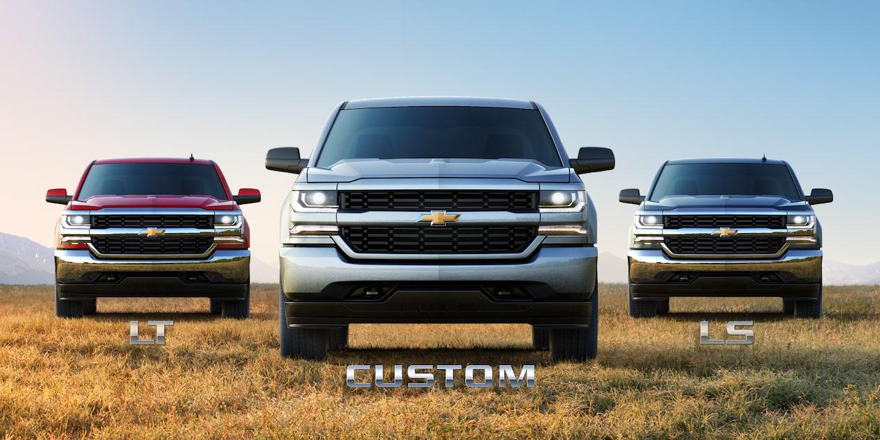 2018 silverado 1500 custom truck