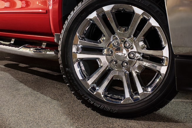 2018 Silverado 1500 Truck Accessories: Wheels
