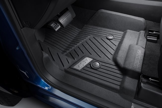 2018 Silverado 1500 Truck Accessories: Weather mats