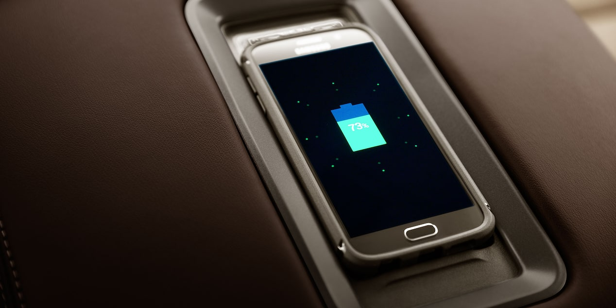 2018 Silverado 1500 Pickup Wireless Charging