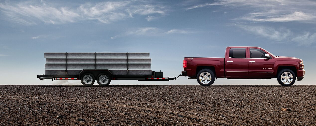 2017 Silverado 1500 Pickup Truck Towing Trailering