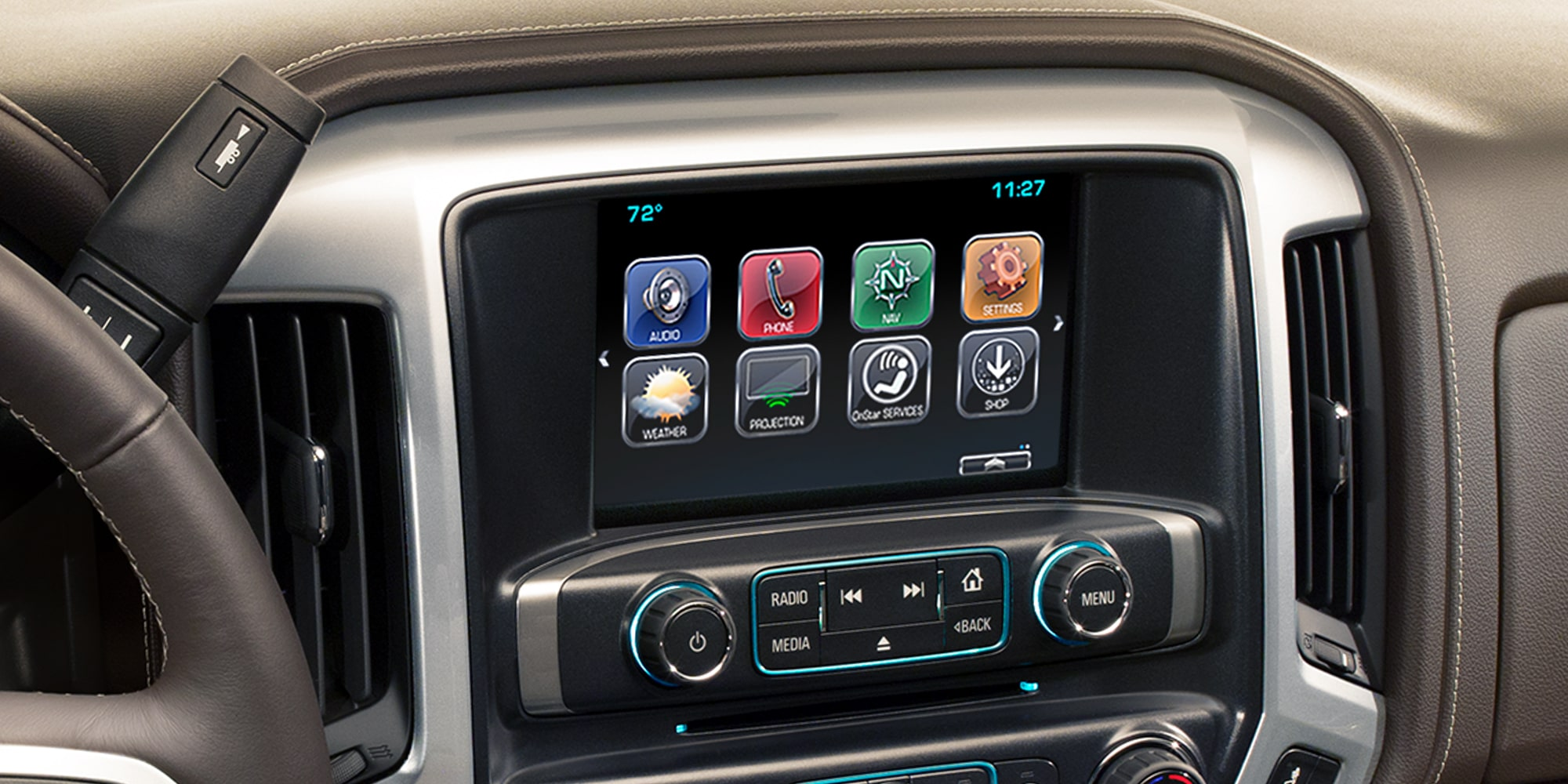 Technology features in the 2018 Silverado