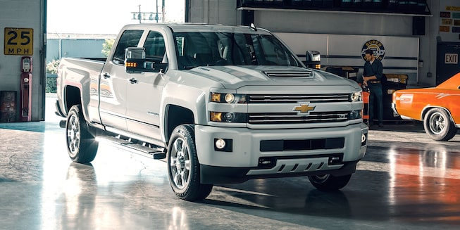 2018 Silverado 2500 3500 Heavy Duty Trucks Chevrolet