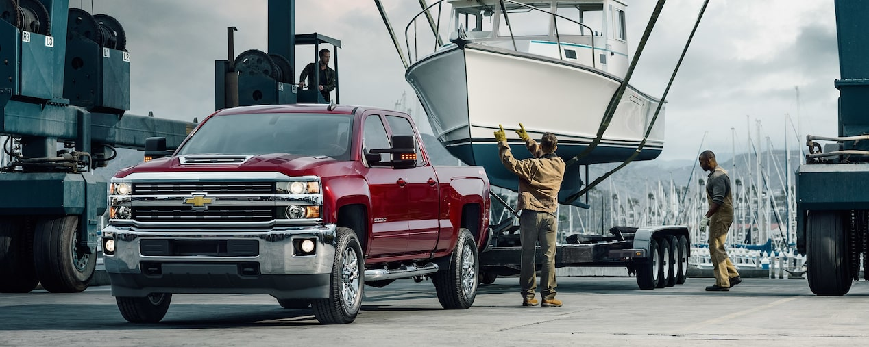 2018 Silverado HD Heavy Duty Truck Performance: advanced towing