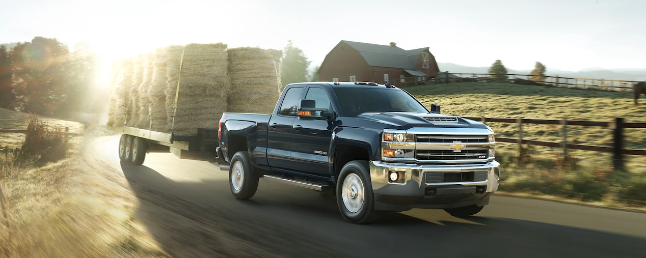 2018 Silverado HD Heavy Duty Truck Performance: trailer sway control