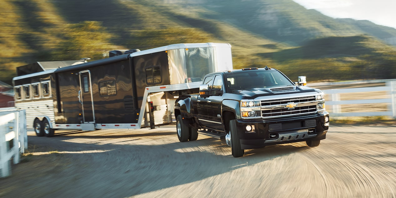 2018 Silverado HD Heavy Duty Truck Performance: trailer sway control 2