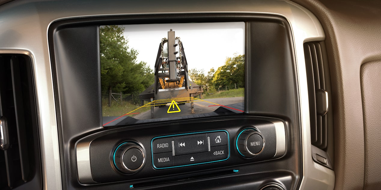 2018 Silverado HD Heavy Duty Truck Technology: rear vision camera