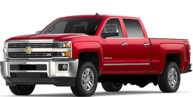 2018 Silverado 2500 HD Heavy Duty Truck: Front View