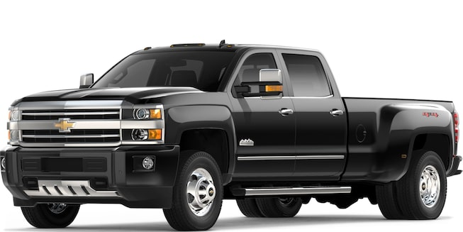 2018 Silverado 3500 HD Heavy Duty Truck: Front View