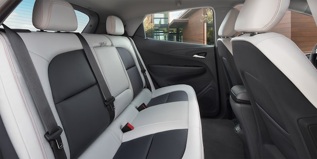 2019 Bolt EV Electric Car Interior Photo: back seats