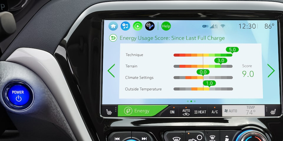 2019 Bolt EV Electric Car Technology: Energy Usage Score