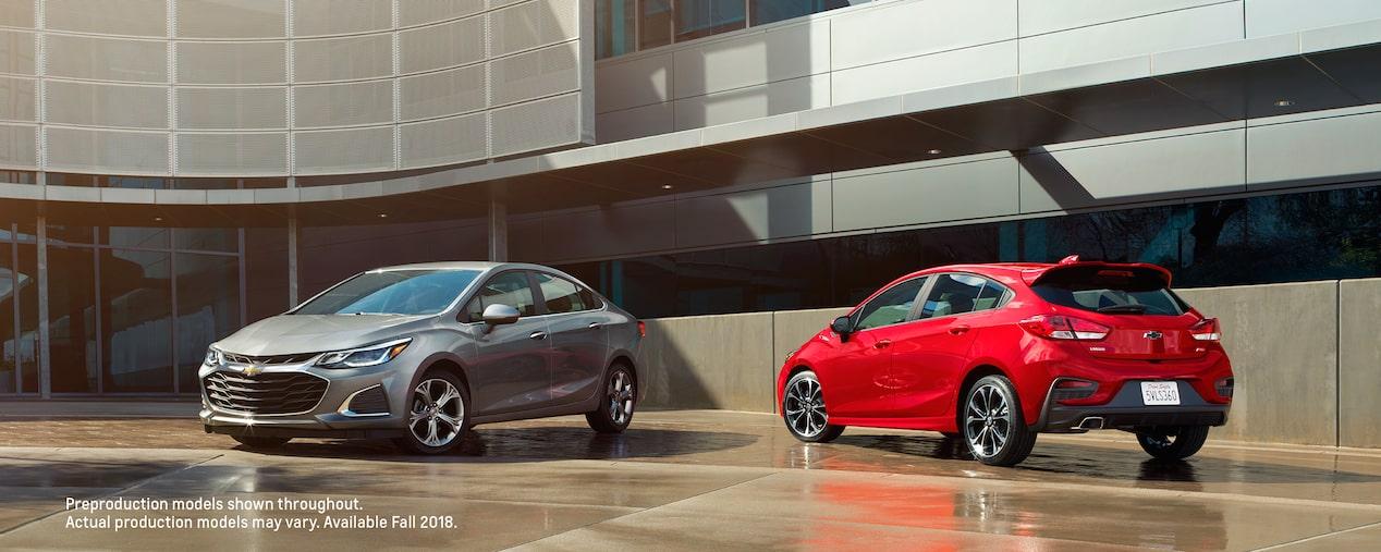 The New 2019 Cruze Small Car Sedan Amp Hatchback