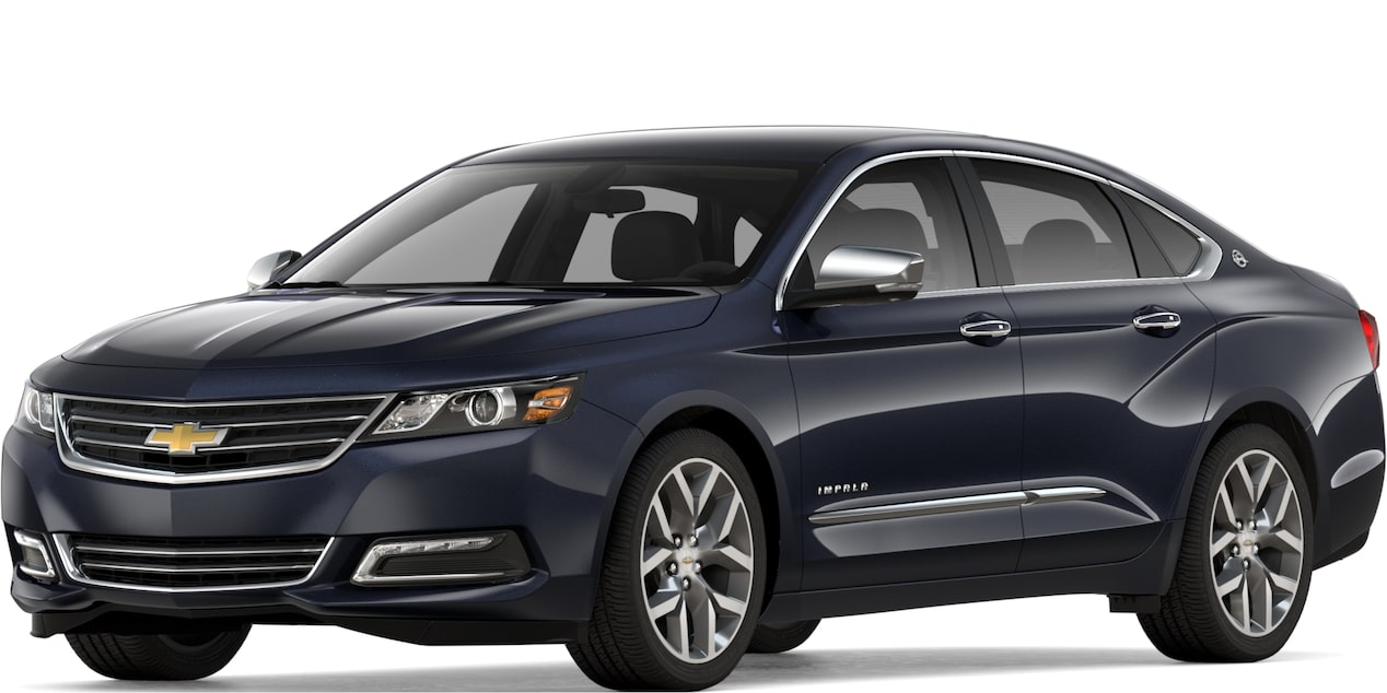 2019 Malibu >> 2019 Chevy Impala: Full-Size Car - Sedan - Large Car