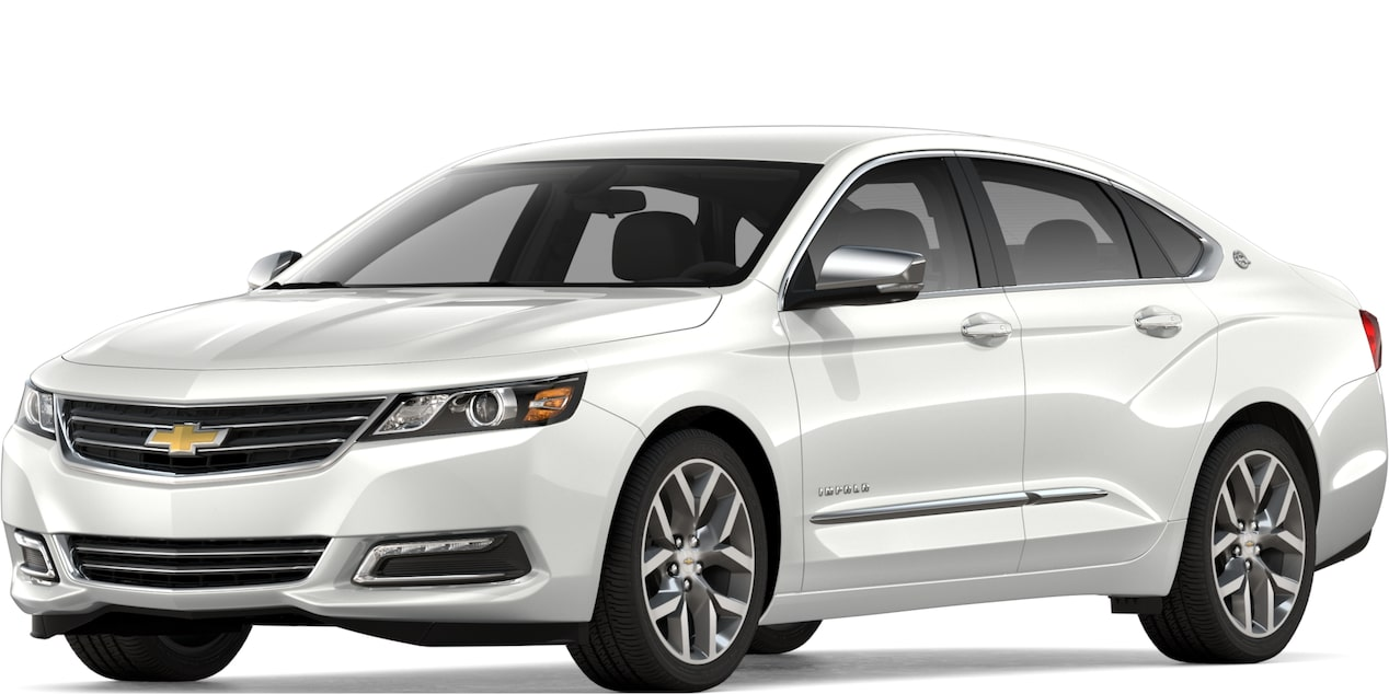 2019 chevy impala  full-size car - sedan