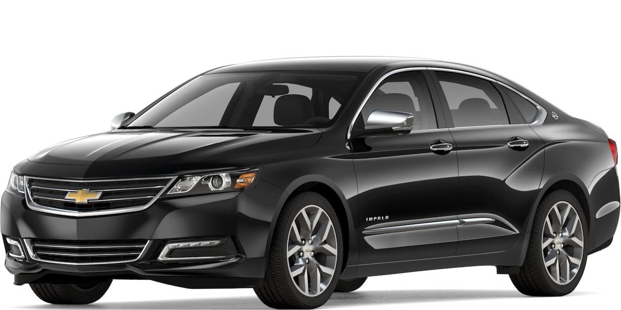 2019 Chevy Impala: Full-Size Car - Sedan - Large Car
