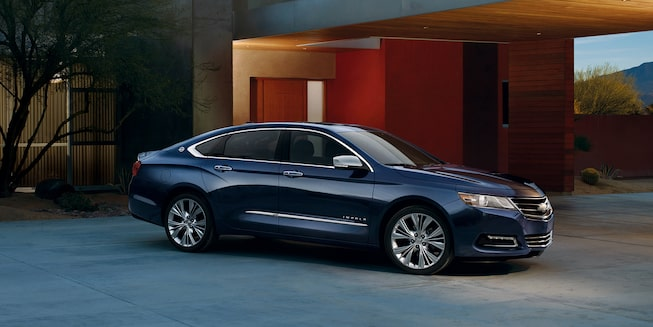 2019 Impala Full-Size Car Exterior Photo: side profile