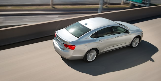 2019 Impala Full-Size Car Exterior Photo: top view
