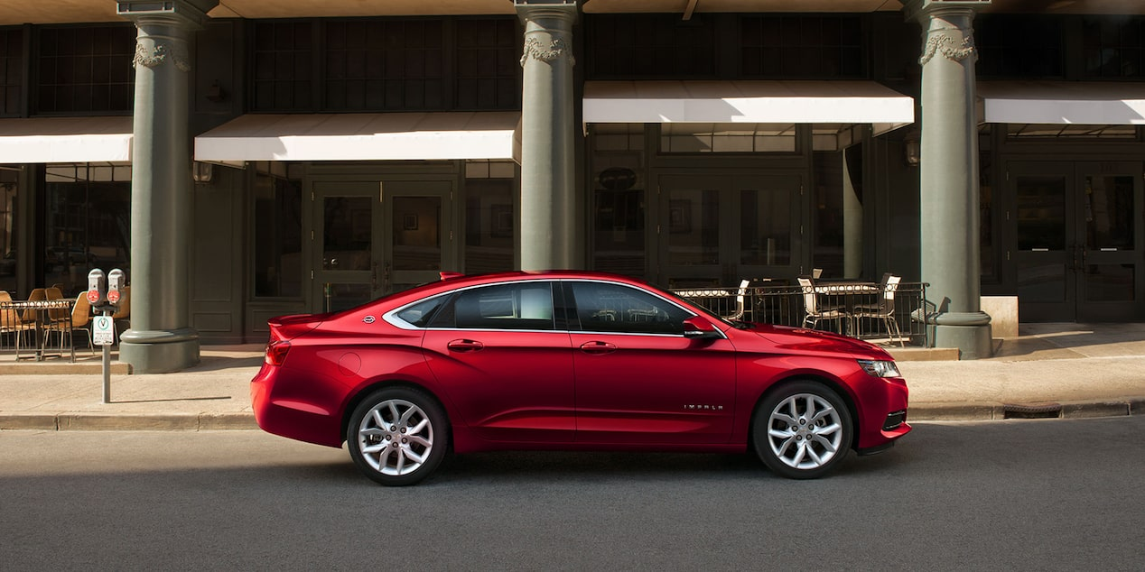 2019 Impala Full-Size Car Design: side profile