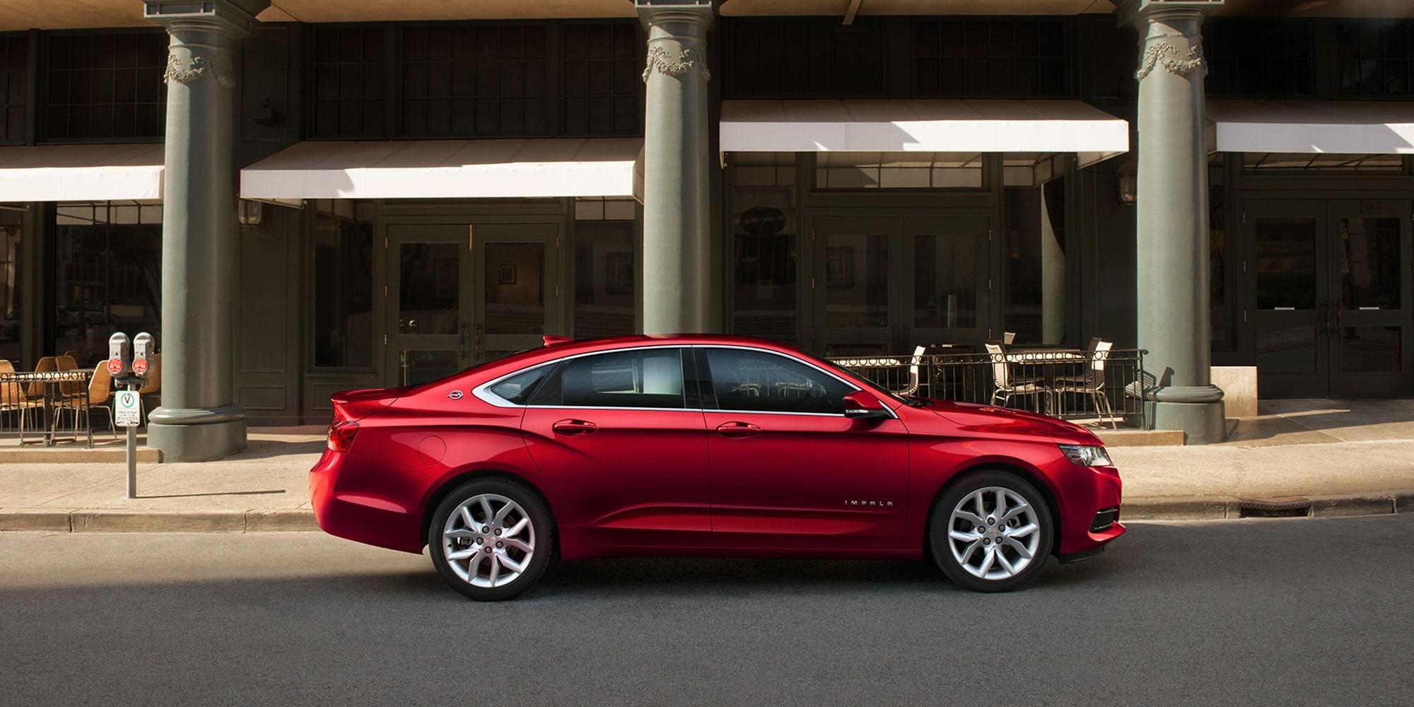 2019 Impala Full Size Car Design: Side Profile