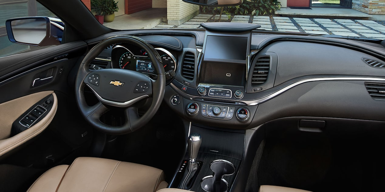 2019 Impala Full-Size Car Design: dashboard