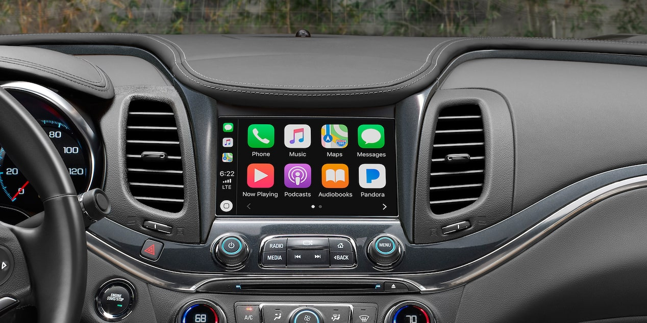 2019 Impala Full-Size Car Technology: Apple CarPlay