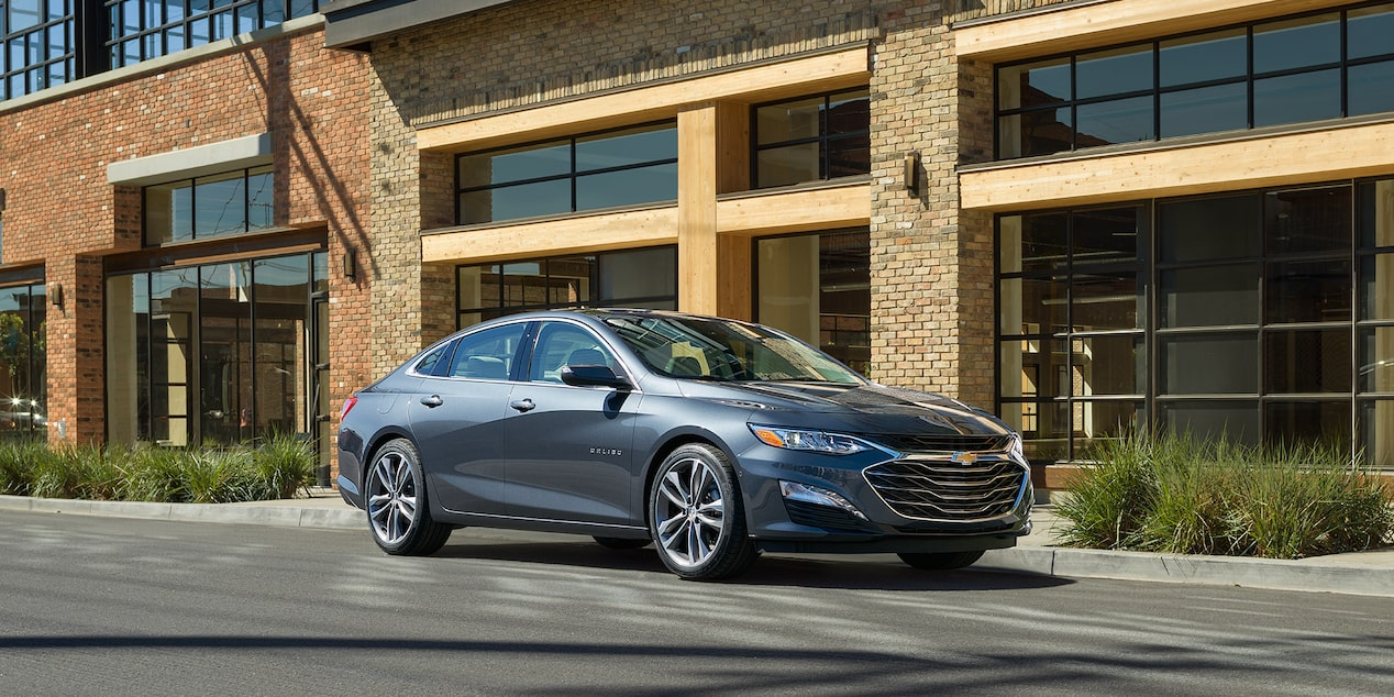 The New 2019 Malibu Mid Size Car Hybrid Car