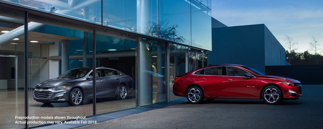 The New 2019 Malibu Mid Size Car Hybrid Car