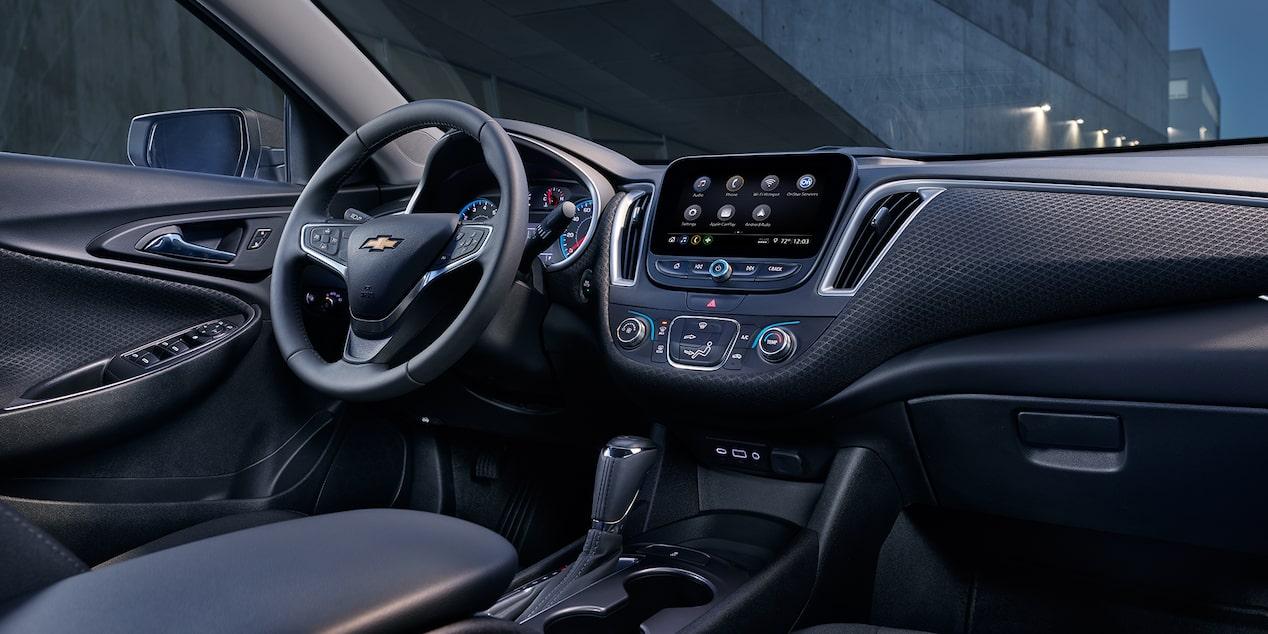 2019 Malibu Midsize Car Design Interior Dashboard