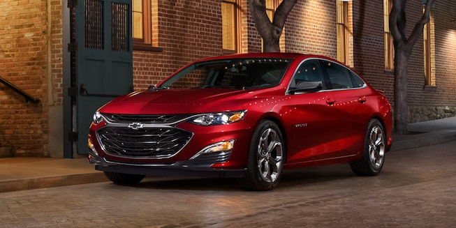 2019 Malibu Midsize Car RS