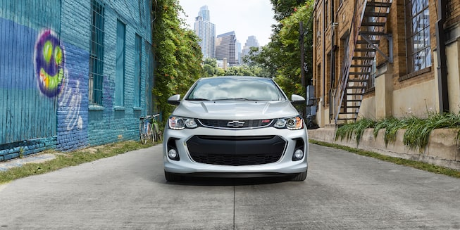 Chevrolet 2019 Sonic Compact Car Exterior Photo: front grille