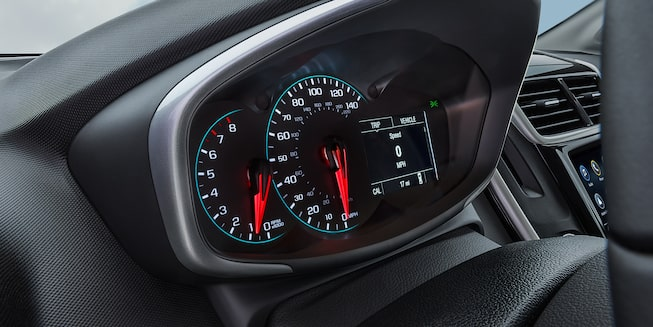 Chevrolet 2019 Sonic Compact Car Interior Photo: instrument cluster