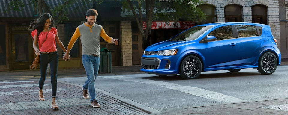 Chevrolet 2019 Sonic Compact Car Design: side