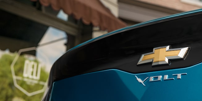 2019 Volt Plug-In Hybrid Exterior Photo: rear badge