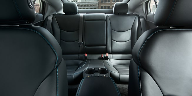 2019 Volt Plug-In Hybrid Interior Photo: rear seats