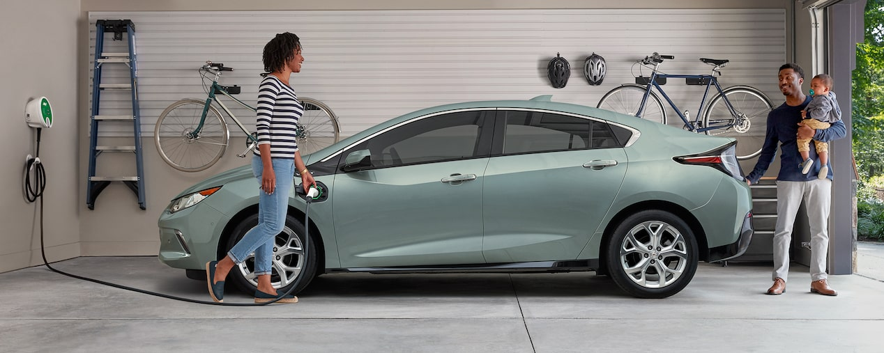 2019 Volt Plug-In Hybrid Charging: at-home charging