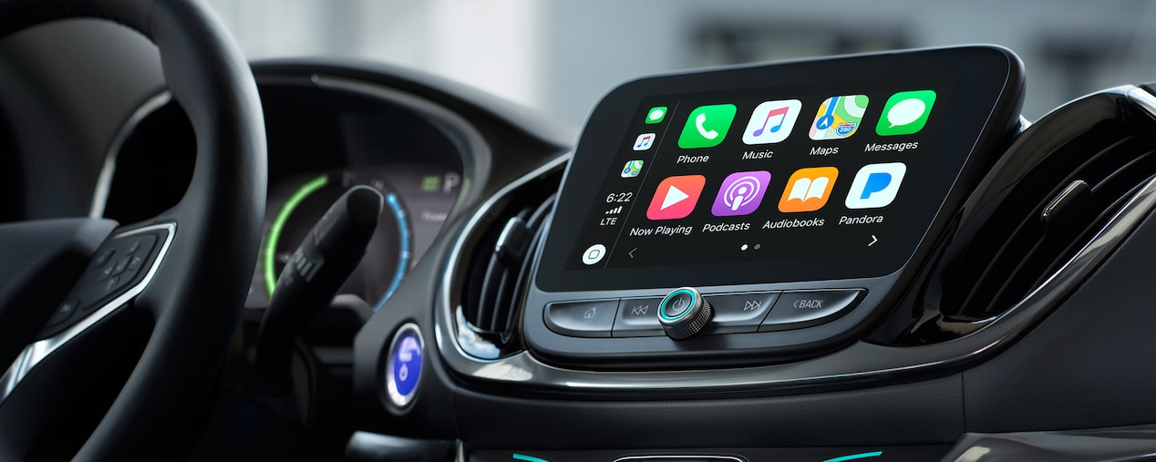 2019 Volt Plug-In Hybrid Technology: Apple CarPlay