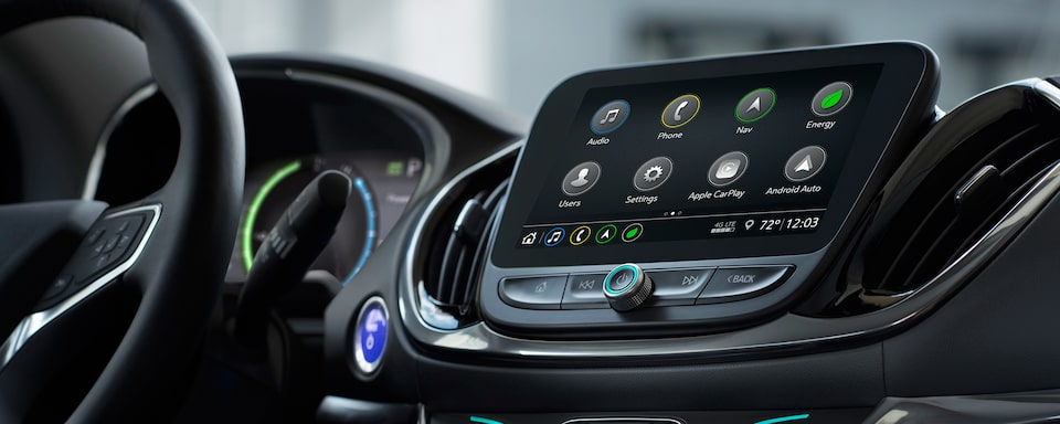 2019 Volt Plug-In Hybrid Technology: Color Touch Screen Radio