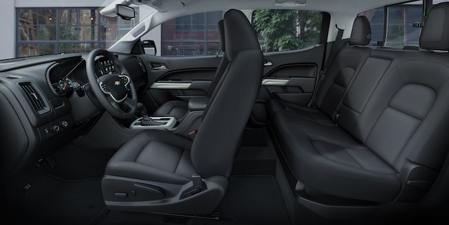2019 Colorado Commercial Work Truck Interior Photo: passenger seating