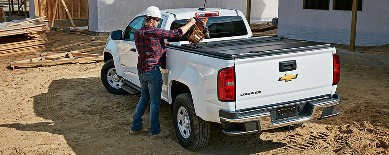 2019 Colorado Commercial Work Truck Specifications: GearOn storage system